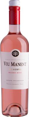 Вино розовое сухое  «Viu Manent Estate Collection Reserva Malbec Rose» 2015 г.