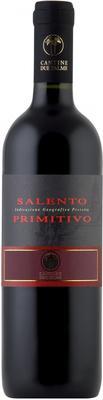 Вино красное полусухое «Due Palme Primitivo» 2014 г.