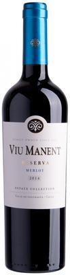 Вино красное сухое «Viu Manent Estate Collection Reserva Merlot» 2014 г.