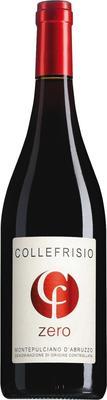 Вино красное сухое «Collefrisio Zero Montepulciano d'Abruzzo» 2014 г.