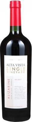 Вино красное сухое «Alta Vista Single Vineyard Alizarine Malbec» 2012 г.