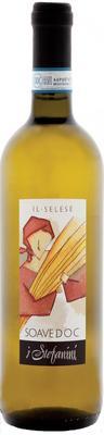 Вино белое сухое «Soave Il Selese» 2015 г.