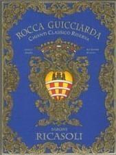 Вино красное сухое «Rocca Guicciarda Chianti Classico Riserva» 2013 г.
