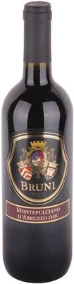 Вино красное сухое «Bruni Montepulciano d'Abruzzo» 2015 г.