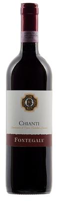Вино красное сухое «Fontegaia Chianti» 2015 г.