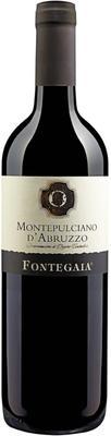 Вино красное сухое «Fontegaia Montepulciano D'Abruzzo» 2015 г.