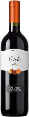 Вино красное полусухое «Cielo e Terra Cabernet Sauvignon» 2015 г.