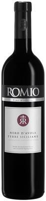 Вино красное сухое «Romio Nero d'Avola» 2015 г.
