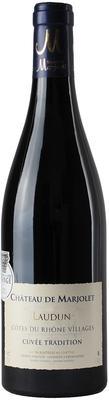 Вино красное сухое «Cotes du Rhone Villages Laudun Cuvee Tradition» 2014 г.