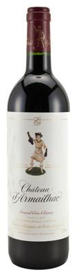 Вино красное сухое «Chateau d'Armailhac Pauillac Grand Cru Classe» 2010 г.