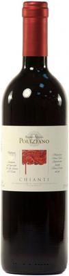 Вино красное сухое «Chianti Polizian, 0.75 л» 2014 г.