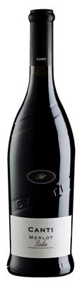 Вино красное сухое «Merlot Terre Siciliane, 0.75 л» 2015 г.