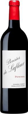 Вино красное сухое «Pensees de Lafleur» 2012 г.