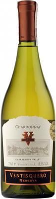 Вино белое сухое «Reserva Chardonna» 2015 г.