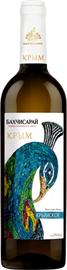 Вино столовое белое сухое «Бахчисарай Крымское»