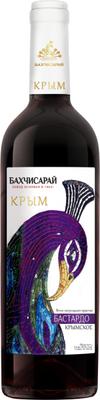 Вино столовое красное полусладкое «Бастардо Крымское»