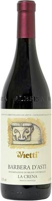 Вино красное сухое «Barbera d'Asti la Crena» 2011 г.