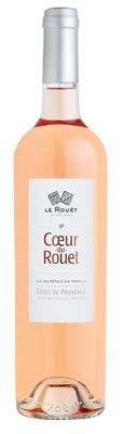 Вино розовое сухое «Coeur du Rouet» 2015 г.