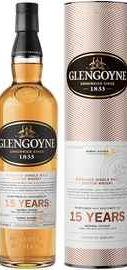 Виски шотландский «Glengoyne 15 Years Old» в тубе