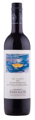 Вино красное сухое «Blaufrankisch Hochberg» 2012 г.