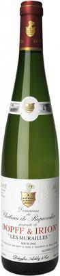 Вино белое полусухое «Domaines du Chateu de Riquewihir Les Murailles Riesling» 2010 г.