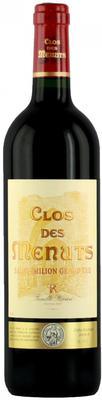 Вино красное сухое выдержанное «Clos des Menuts Saint-Emilion Grand Cru» 2012 г.