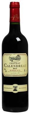 Вино красное сухое «Chateau Calendreau Bordeaux» 2015 г.
