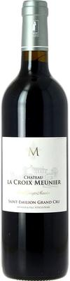 Вино красное сухое «Chateau La Croix Meunier Saint Emilion Grand Cru» 2012 г.