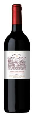 Вино красное сухое «Chateau Haut-Landon» 2014 г.