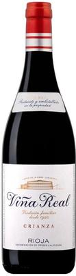 Вино красное сухое «Vina Real Crianza, 0.375 л» 2012 г.