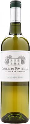 Вино белое сухое «Chateau de Fontenille» 2015 г.