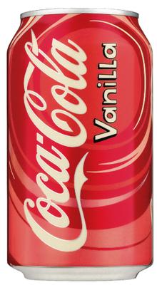 Газированный напиток «Coca-Cola Vanilla» в жестяной банке
