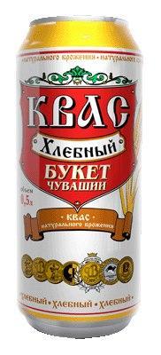 Квас «Хлебный Букет Чувашии» 0,5
