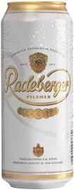 Пиво «Radeberger» в жестяной банке