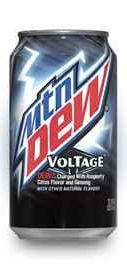 Газированный напиток «Mountain Dew Voltage»