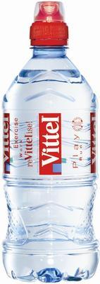 Вода «Vittel sport, 0.33 л» со спортивной крышкой
