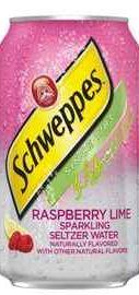 Газированный напиток «Schweppes Raspberry Lime»