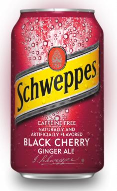 Газированный напиток «Schweppes Black Cherry»