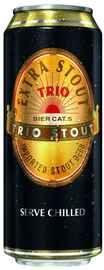 Пиво «Trio Extra Stout» в жестяной банке