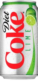 Напиток безалкогольный сильногазированный «Coca Cola Diet Lime» 0.33