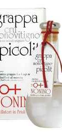 Граппа «Cru Monovitigno Picolit» в подарочной упаковке