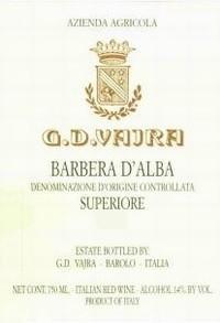 Вино красное сухое «Vajra Barbera d'Alba Superiore» 2013 г.