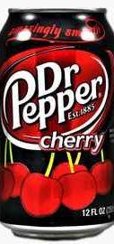 Газированный напиток «Dr Pepper Cherry»