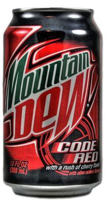 Газированный напиток «Mountain Dew Code Red»