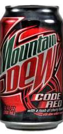 Вода «Mountain Dew Code Red»