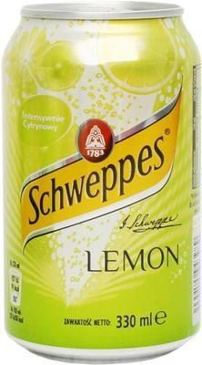 Газированный напиток «Schweppes Lemon»