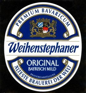Пиво «Weihenstephan Original»