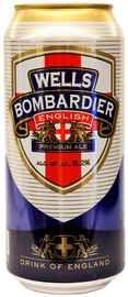 Пиво «Wells Bombardier» в жестяной банке