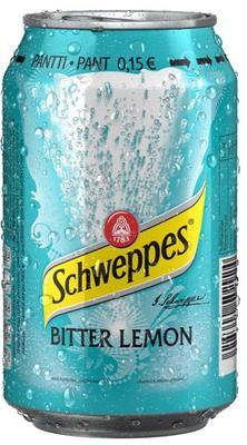 Газированный напиток «Schweppes Bitter Lemon, 0.15 л» в жестяной банке