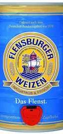 Пиво  «Flensburger Weizen» кегля
